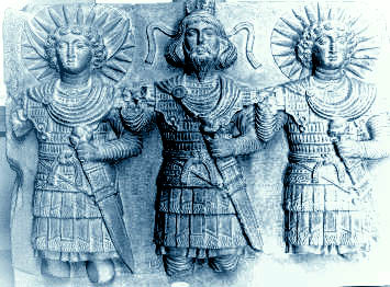 Semitic Gods - Moon King and Sun