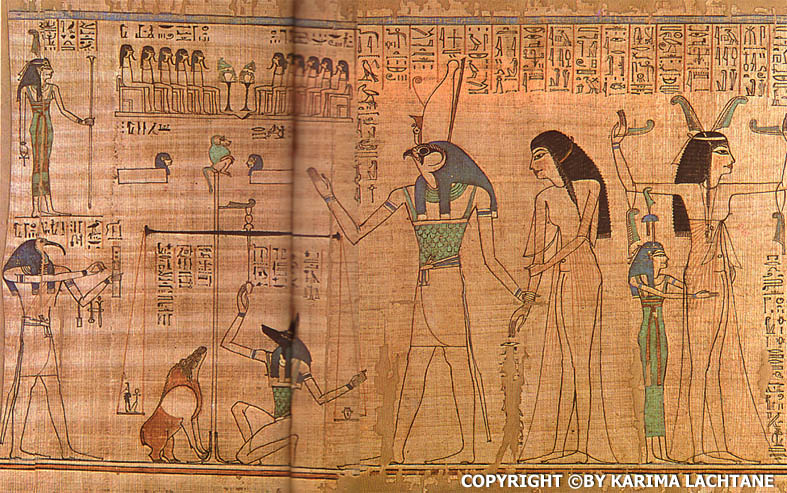 The Ancient Papyrus scroll of Anhai